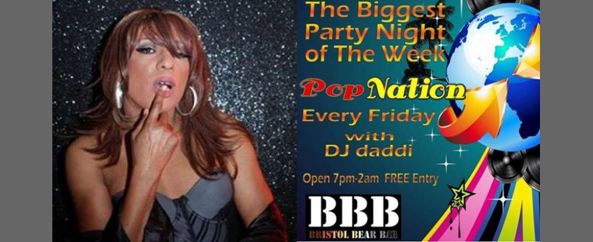 Bear Bar presents Sandra & Pop Nation