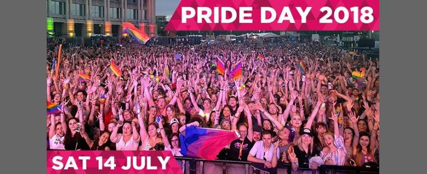 Bristol Pride Day 2018 | Saturday 14 July, Harbourside
