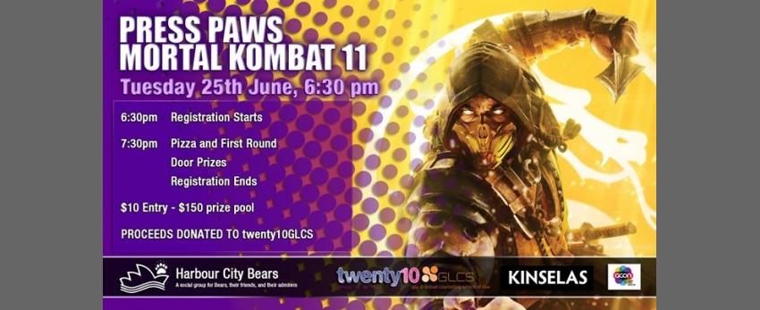 Press Paws - Mortal Kombat 11