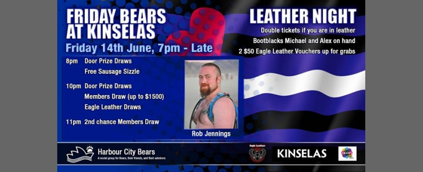 Friday Bears feat. Rob Jennings, Leather Night