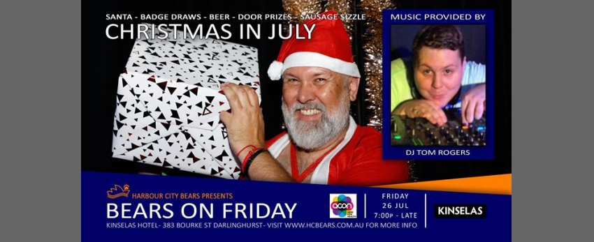 Friday Bears feat Tom Rogers - Christmas in July!