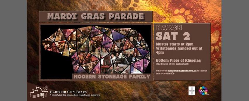 Mardi Gras parade - Modern Stone Age Family