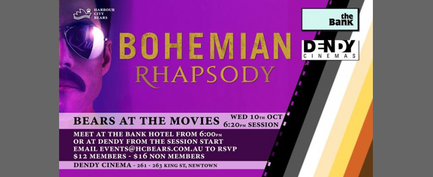 Bears at the Movies November - Bohemian Rhapsody