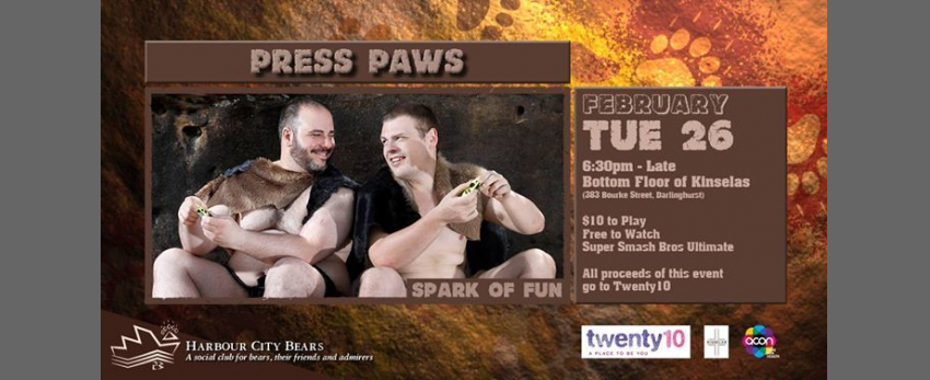 Press Paws - Spark of fun
