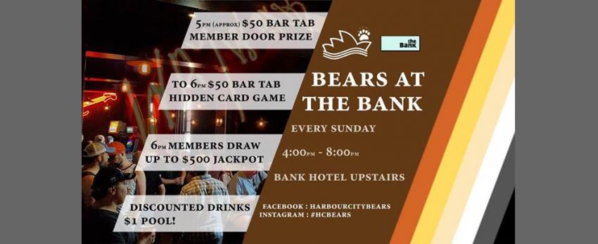 Bears at the Bank - $500 Members draw