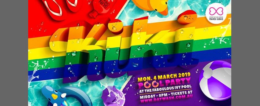 KiKi Pool Party Mardi Gras Weekender