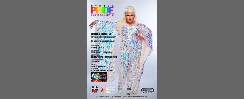 Pride Festival 2019 Beyond Blue fund raising event.