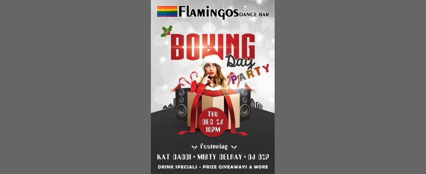 Flamingos Boxing Day Party!