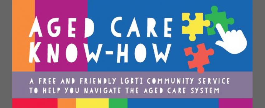 Burnie - Navigating Aged Care for LGBTI Folks