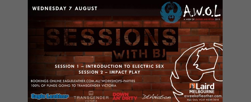 AWOL - Sessions with BJ (SOLD OUT)