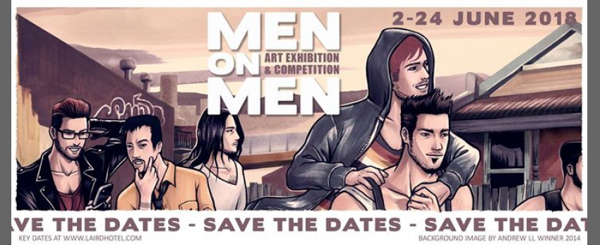 Men on Men 2018 - Save The Dates