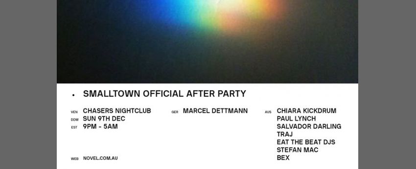 Smalltown Official After Party with Marcel Dettmann