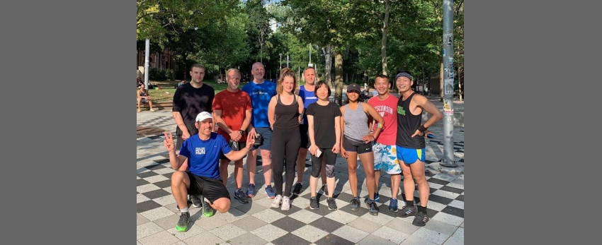 Weekly Tuesday Run with Frontrunners Toronto!
