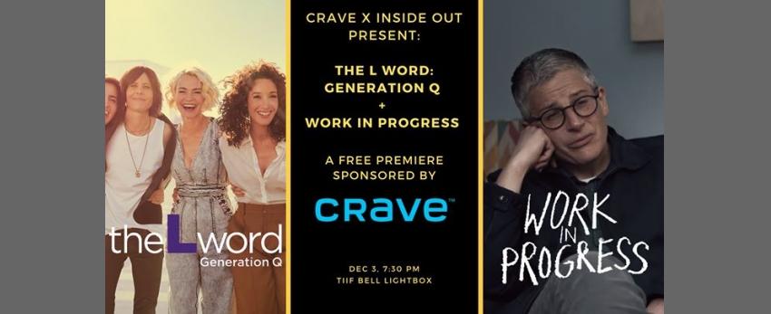 The L Word: Generation Q + Work in Progress Premiere (FREE)
