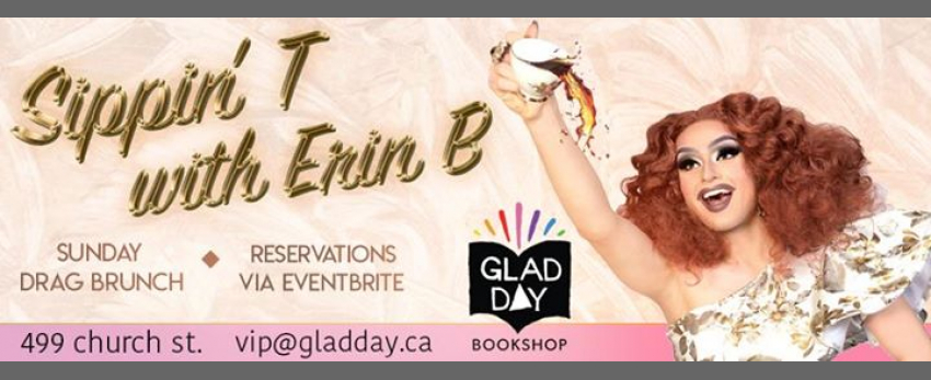 Sunday Drag Brunch at GLAD DAY!