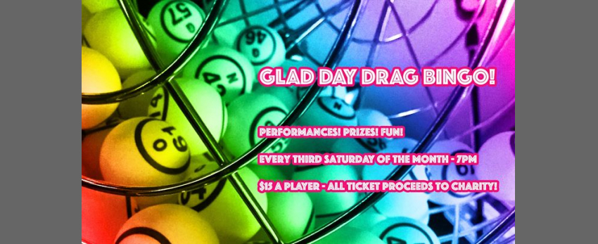 Glad Day Drag Bingo!