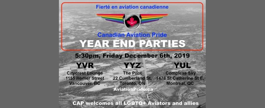 CAP - YUL: Year End Party/ Fête de fin d'année!