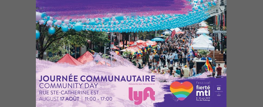Fierté Montréal - Journée communautaire présentée par Lyft