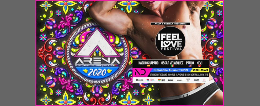 I Feel Love Festival: ARENA Festival pre-party