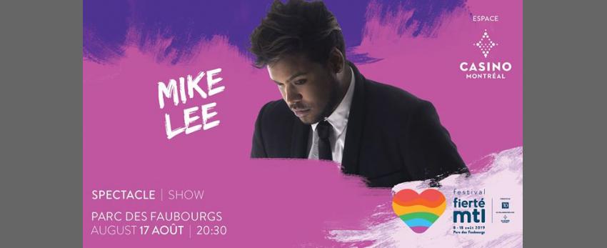 Festival Fierté Montréal – Mike Lee