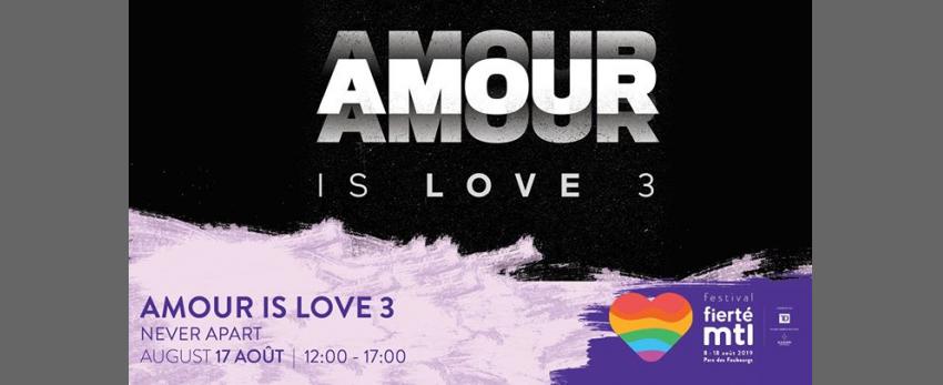 Festival Fierté Montréal - Amour is Love 3