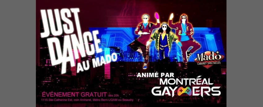 Just Dance au Cabaret Mado!