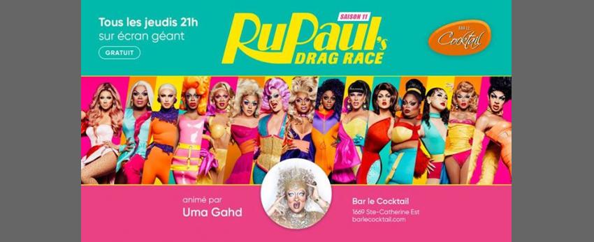 Rupaul's Drag Race 11 au Cocktail