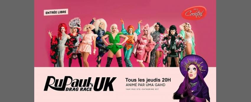 Rupaul's Drag Race UK au Cocktail