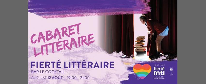 Festival Fierté Montréal - Fierté littéraire: Cabaret littéraire