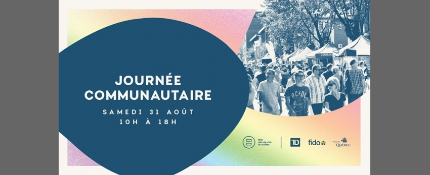Journée communautaire | Fête Arc-en-ciel de Québec