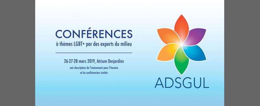 Conférences de la semaine de la diversité sexuelle 2019