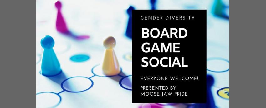 Board Game Social - Gender Diversity