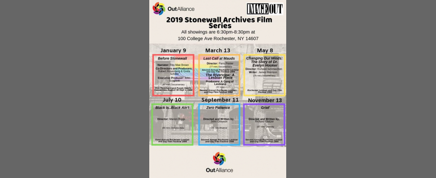 2019 Stonewall Archives Film Series