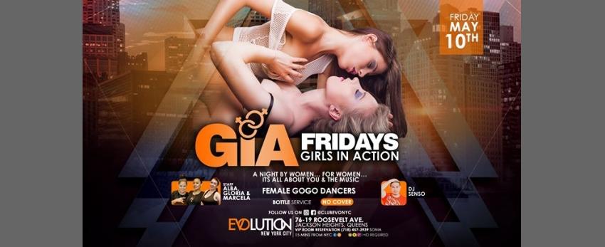 GIA Fridays (Girls Night) at E-Lounge