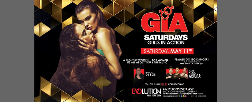 GIA Saturdays (Girls Night) at E-Lounge