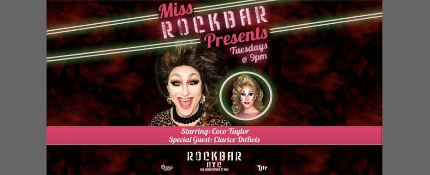 Miss Rockbar Presents with Clarice DuBois