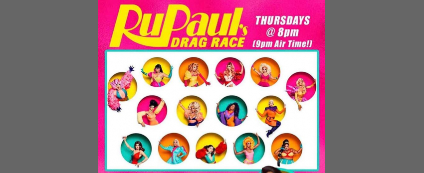 Rockbar's Drag Race Viewing Party!