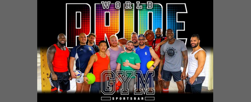 Celebrate WORLD PRIDE at GYM