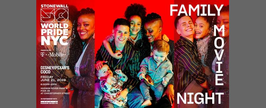 Family Movie Night: WorldPride 2019 | Stonewall 50