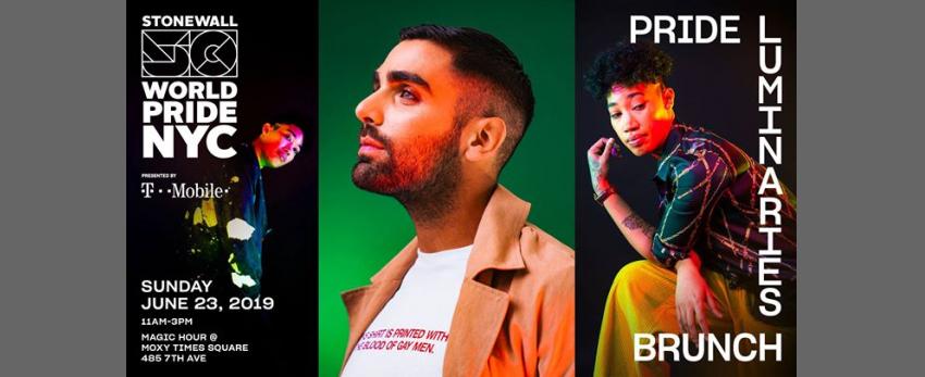 Pride Luminaries Brunch: WorldPride 2019 | Stonewall 50