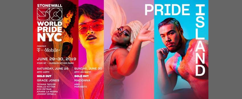 Pride Island: WorldPride 2019 | Stonewall 50