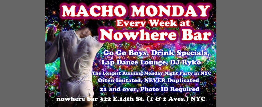 Macho Monday
