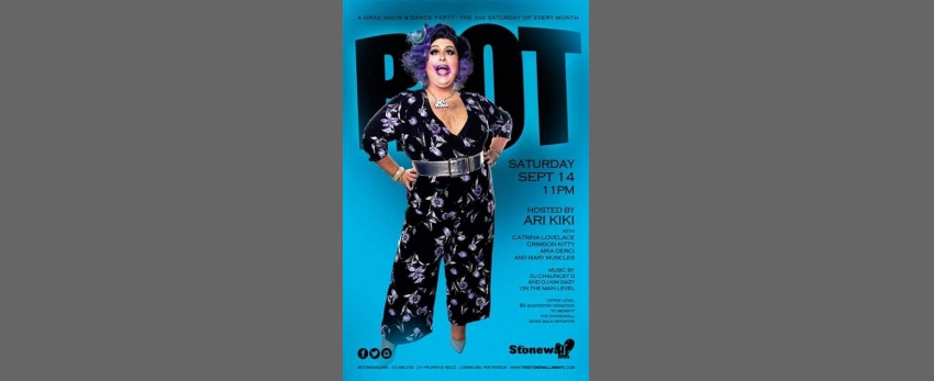 Riot! (Dance Party/Drag Show) - Sept 14