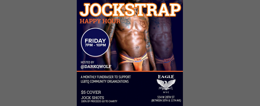 Jockstrap Happy Hour