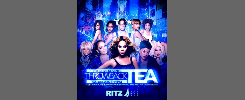 Throwback Tea Saturdays