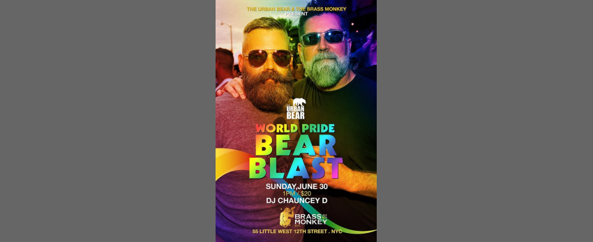 Urban Bear World Pride Bear Blast