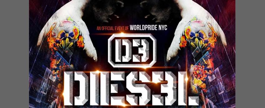 D3 Dies3l - Solidarity Pride Main Event