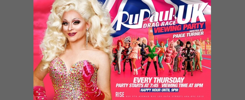 RuPauls Drag Race UK hosted by: Paige Turner