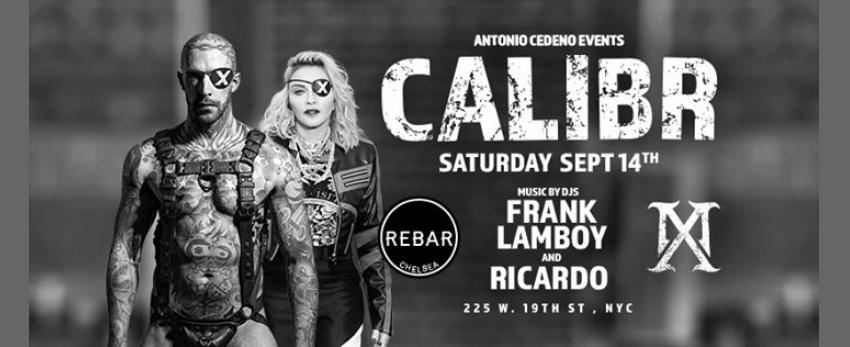 Calibr MX FT. Frank Lamboy & DJ Ricardo