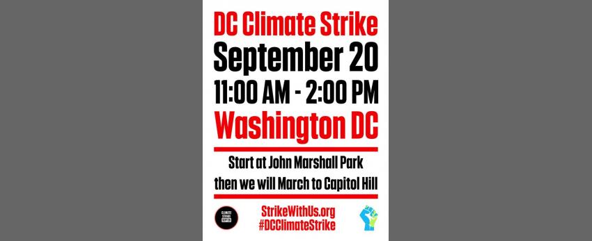 DC Climate Strike